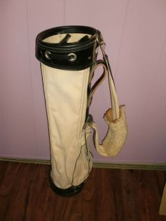 Vintage Don Martin Los Angeles Shoulder Carry Golf Bag Cart