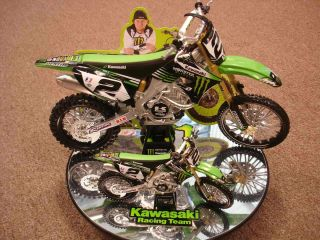Ryan Villopoto 1 6 Scale Racing Replica Dirt Bike Toys