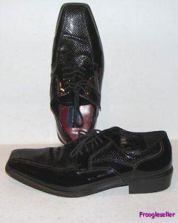 Andrew Fezza Mens Dinero Oxfords Dress Shoes 10 M Black