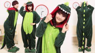 Unisex Dinosaur Adult KIGURUMI Animal Anime Cosplay Costume Pajamas