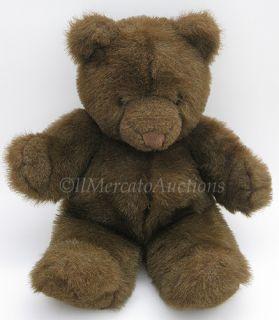 Vtg 1983 Plush Brown Gund Collectors Classic 20 Teddy Bear Stuffed