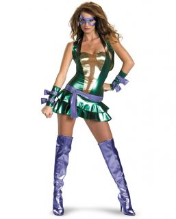 Ninja Turtles TMNT Sexy Donatello Deluxe Fancy Dress Costume
