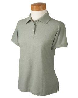 Devon Jones Polo Shirt Top Golf Women Short Sleeve Recycled Pima Pique
