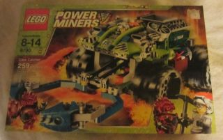 Lego Power Miners Claw Catcher Car Set 8190 New Discontinued from 2010