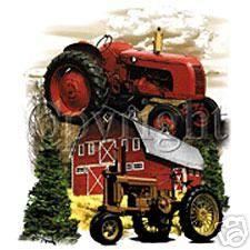 TRACTORS AND BARN FARMALL ALLIS CHALMERS? T Shirt