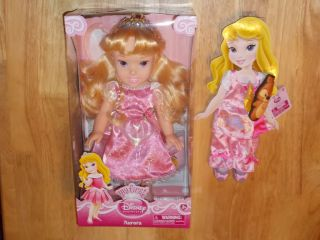 NIB Jakks My First Disney Princess Toddler Doll Sleeping Beauty AURORA
