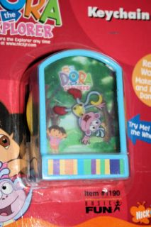 Nick Jr Dora The Explorer Boots Monkey Fun Dance Game Toy Keychain Key