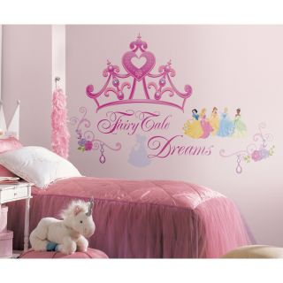 Disney Princess Crown Giant Wall Decals Kids Sticker