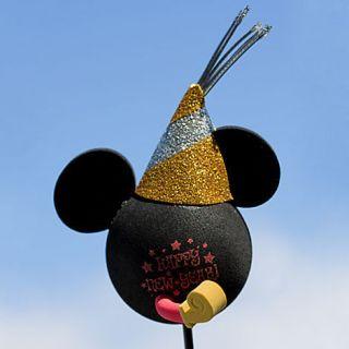 Holiday Mickey Disney Icon Christmas Car Antenna Ball Topper Happy New