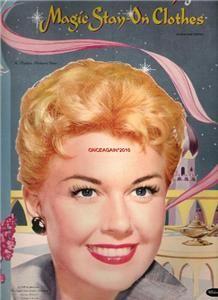 VINTAGE UNCUT RARE 1957 DORIS DAY PAPER DOLLS~~#1 REPRO