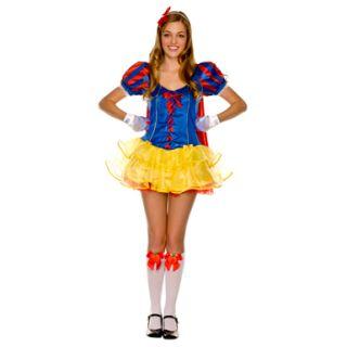teen snow white fairytale halloween costumes