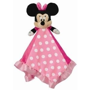 Kids Preferred Disney Baby Pink Minnie Mouse Security Blanket Plush
