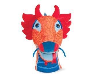 Manhattan Toy Donnelly Dragon Plush Hand Puppet