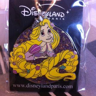 Disney Pins Rapunzel Tangled Disneyland Paris Pins Trading Pins