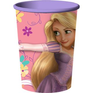 Disney Tangled Birthday 4 Plastic Cups Favor Necklaces