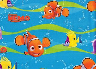 Disney Finding Nemo Gift Wrap Wrapping Paper Birthday Party Supplies