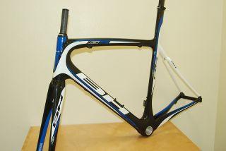 New 2011 Bh G5 Carbon Road Bike Frame MSRP 3499 99 56cm Blue