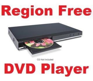 Region Free Multi Zone NTSC PAL DIVX DVD Player 012562503233