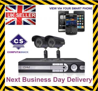Sony CCD Camera Home Business CCTV Security DIY System Kit