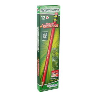 Dixon Ticonderoga Erasable Colored Pencils 2 6 mm Dozen DIX14259