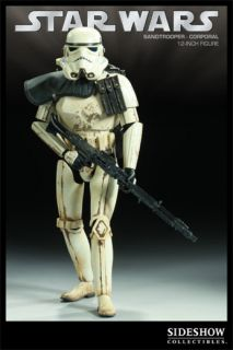 Sideshow Star Wars Sandtrooper DLT 19 Blaster Marmit Medicom 12