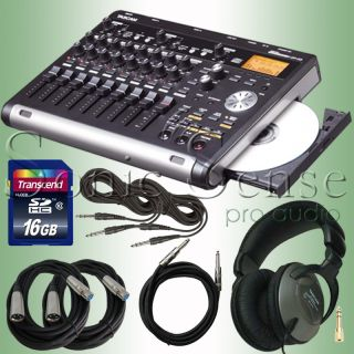 Tascam DP 03 8 Track Digital Recorder Package Extended Warranty