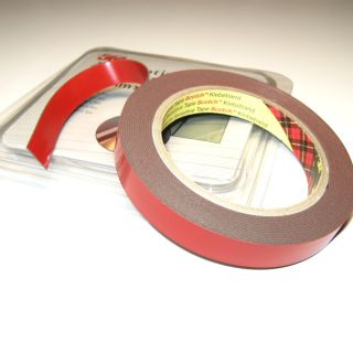 3M Automotive Acrylic Foam Double Sided Attachment Tape. 6 mm
