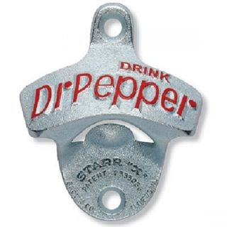 Dr Pepper Cast Iron Wall Mount Bottle Opener NEW FREE SHIPPING