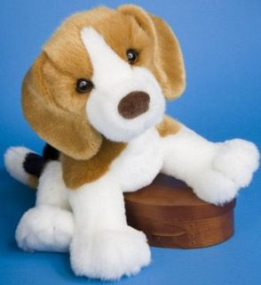 16 Soft Plush Stuffed Beagle Dog by Douglas New