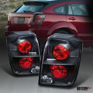 07 10 Dodge Caliber RT SXT Black altezza Tail Lights