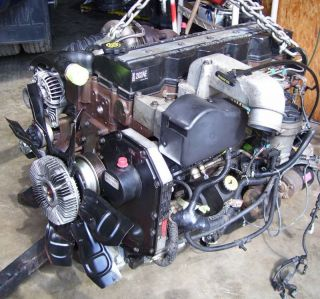 DODGE CUMMINS DIESEL ENGINE FOR 2002 from an automatic COMPLETE w