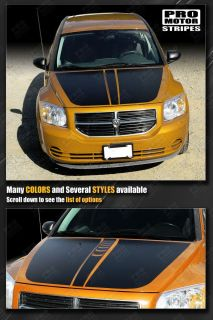 Dodge Caliber Hood Sport Stripes 2007 2008 2009 2010 2011 2012 Decals