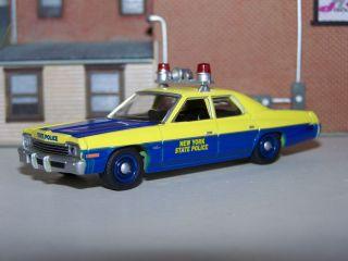 1974 Dodge Monaco New York State Police Car w Rubber Tires
