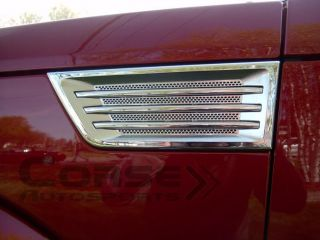 2008 2009 2010 Dodge Nitro Chrome Side Vent Covers