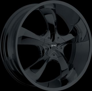 inch Stonz S04 Black Rims Tires for 2009 and Up Dodge Journey