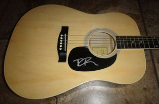 Dierks Bentley Signed Autographed Acoustic Guitar Country Music Proof
