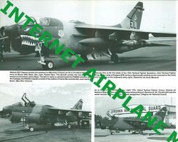 Squadron Signal A 7 Corsair II in Action USN VA USAF TFW Vietnam War