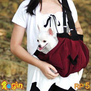 Regin Pet Sling Dog Cat Carrier Pouch Purse Bag Rp5