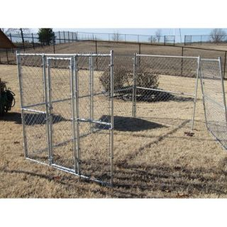 Great Outdogs Chain Link Modular Panel Dog Kennel