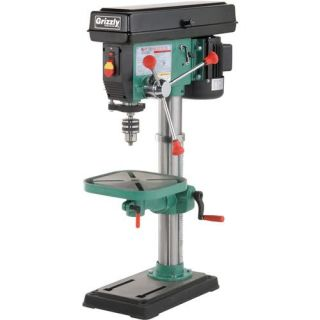 G7943 Grizzly 12 Speed Heavy Duty Bench Top Drill Press, New