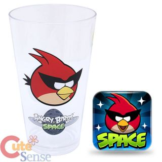 Rovio Angry Birds Space Tumbler Drink Cup Super Red Bird 1