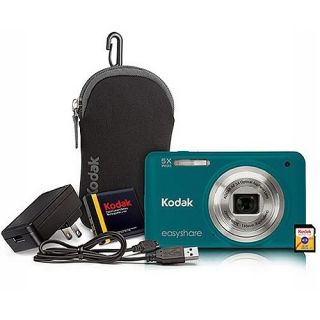 Easyshare M5350 16MP 5x Optical Zoom Digital Camera Bundle – Green