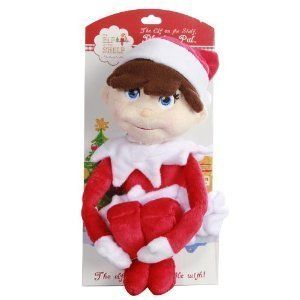 The Elf on A Shelf Girl Plush Doll Great Keepsake Holiday Item