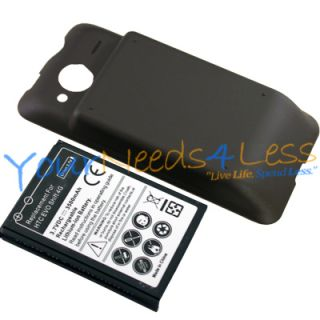 New Sprint HTC EVO Shift 4G 3500mAh Extended Battery Back Door Cover