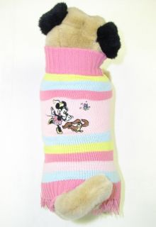 Minnie Mouse Disney Pets Officially Licensed Sweater for Dogs