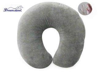 Memory Foam Travel Neck U Shape Headrest Pillow Car