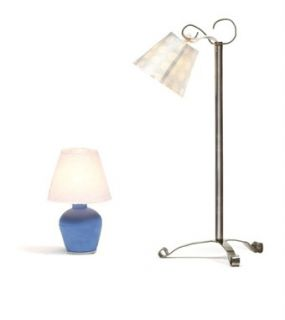 Lundby Dollhouse Lighting Electric Accessories Lamp Set