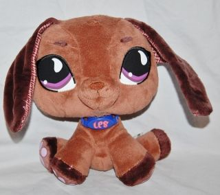 Littlest Pet Shop Dachshund Plush Dog Stuffed Animal LPS Plush