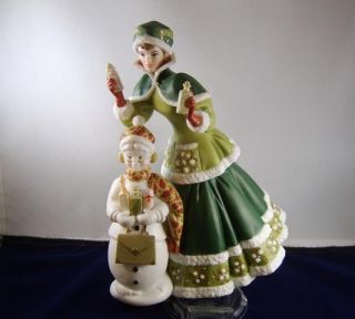 Avon 2003 Mrs Albee Award Doll Porcelain Collectible