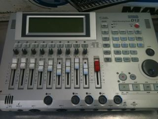 Korg D12 Digital Recording Studio